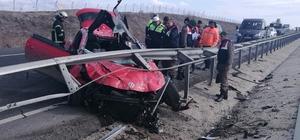 Tekirdağ-İstanbul yolunda kaza: 1'i ağır 2 yaralı
