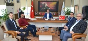 UEDAŞ'tan Karacabey Belediye Başkanı Ali Özkan'a ziyaret