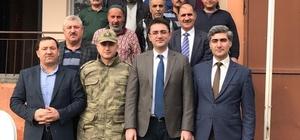 Kaymakam Tekbıyıkoğlu'ndan özel idare ekiplerine ziyaret