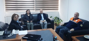 Sivil savunma uzmanları ile toplantı