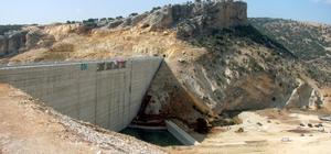 Ardıl barajında su tutumuna başlandı