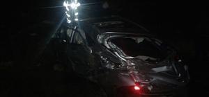 Gölbaşı'nda otomobil takla attı: 3 Yaralı