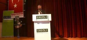 Ereğli'de konferans