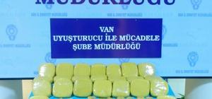 Van'daki uyuşturucu operasyonları