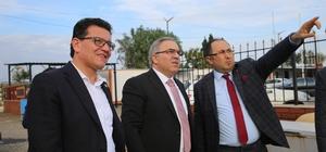 TOKİ Başkanı Turan, Finike'de incelemelerde bulundu