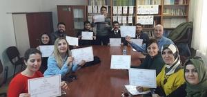 Türk İşaret Dili kursu tamamlandı