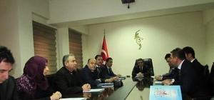 Şaphane'de Hayat Boyu Öğrenme Halk Eğitimi Planlama ve İşbirliği Komisyonu Toplantısı