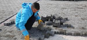 Haliliye Belediyesi'nden Devteşti'nde yol çalışması