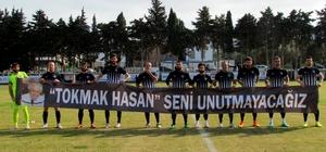 Çeşme'nin en eski futbolcuları onurlandırıldı