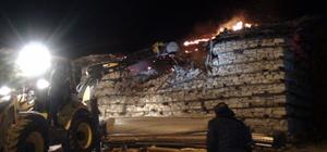 Akseki'deki tarihi düğmeli ev yandı