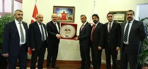 Sorgun TSO'dan, Ankara TSO'ya hayırlı olsun ziyareti
