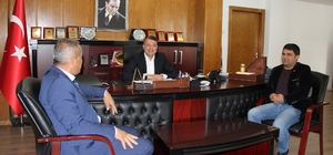 Taşucu Koop'tan Başkan Turgut'a ziyaret