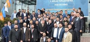 AK Partili gençler referandum çalışmaları öncesi Trabzon'da toplandı
