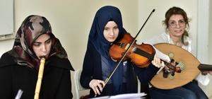 Mamak Kültür Merkezi kursları, sanatseverlerin hizmetinde