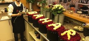 Batmanlı çiçekçilerin hedefi 50 bin gül satmak