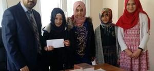 Baykanlı öğrencilerden Halep'e yardım