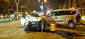 Sakarya'da 7 araçlı zincirleme trafik kazası: 2 yaralı