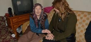 Yunusemre'nin evde bakım hizmetleri yüz güldürüyor