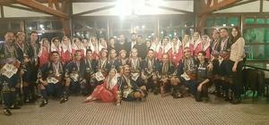 Odunpazarı Belediyesi halk oyunları yarışmasında birinci oldu
