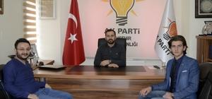İl Öğrenci Meclis Başkanı Pak, AK Parti İl Başkanı Tanrıver'i ziyaret etti