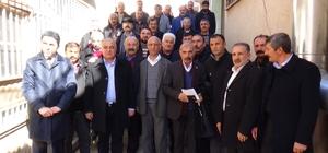 Kiraz'dan CHP Akçadağ İlçe Yönetimine hayırlı olsun ziyareti