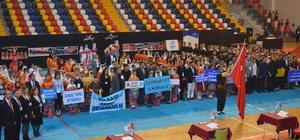 Okullararası halk oyunları yarışması düzenlendi
