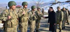 Dağ karakolunda güvenlik koordinasyon toplantısı
