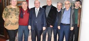Başkan Albayrak, ADD Tekirdağ Şubesi'ni ziyaret etti