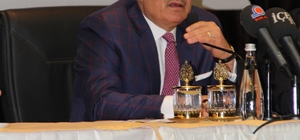 Başkan Kocamaz, Cumhurbaşkanı Erdoğan'dan tarihi stat için destek aldı