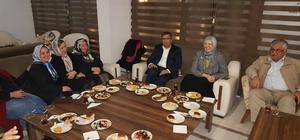Eski Bakan ve Ak Parti Milletvekili Sema Ramazanoğlu Sandıklı'da mola verdi