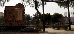 Akdeniz Belediyesi, saldırılarla tahrip edilen parkları yeniliyor