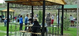 Kartaltepe Kent Ormanı'nda aynı anda 2 bin 222 kişi piknik yapabilecek