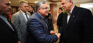 Başkan Karaosmanoğlu, Kütahyalı heyeti makamında ağırladı