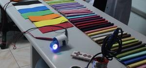 """Renk körleri için """"renk tonu bulucu"""" cihaz"""