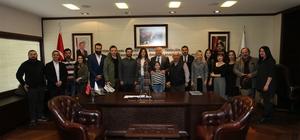 Sinemacılardan Başkan Zolan'a ziyaret