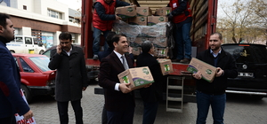 Suriyeli yetimlere yardım