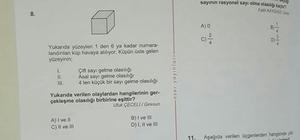 TEOG deneme sınavında 'Altunhisar' sorusu çıktı