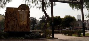 Mersin'de parklardaki tahribatlar gideriliyor