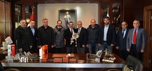 Şükranlılar Derneğinden Başkan Ataç'a teşekkür ziyareti