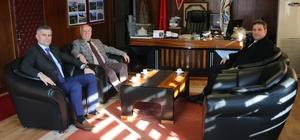 İlçe Emniyet Müdürü Çakar'dan, Başkan Uyan'a ziyaret