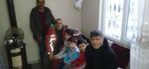 Kızılay'dan hasta ziyaretleri