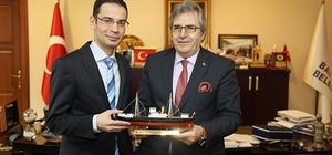 CLK Uludağ Elektrik'ten Mirza'ya ziyaret