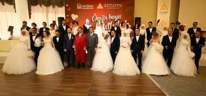 Keçiören Belediye Başkanı Ak 14 Şubat'ta 14 çifti evlendirdi