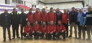 Sungurlu Belediyespor güreş takımı 2. lige yükseldi