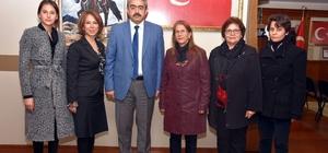 Cumhuriyet Kadınları Derneği, Haluk Alıcık'ı ziyaret etti