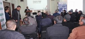 Gemerek'te kuraklık sigortası semineri düzenlendi
