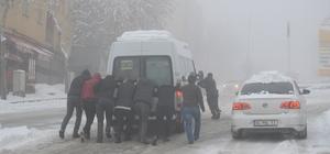 Şırnak'ta 44 köy yolu ulaşıma kapandı