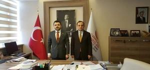 İl Müdürü Ercan'dan Kaşdemir'e ziyaret