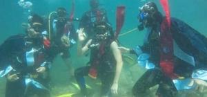 SCUBA dalış eğitim öğretimi protokolü imzalandı