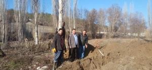 Gümele Mahallesi'ne yeni kanalizasyon hattı